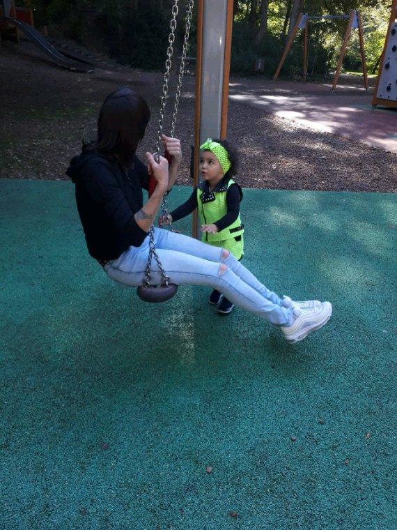 Avec mon bébé ♡♡