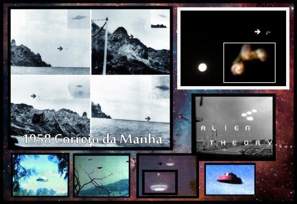 Quelques clichés d'OVNI dit authentique