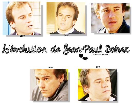 L'Evolution De Jean - Paul Boher