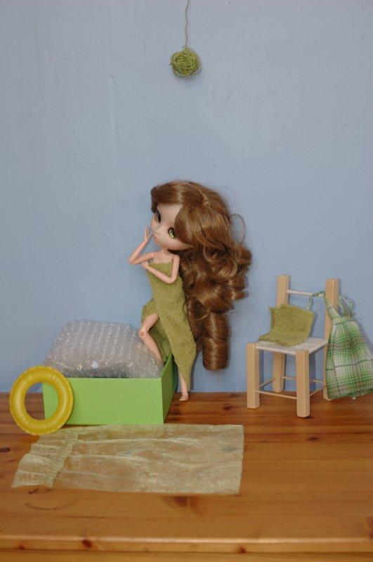 ma doll dans sa salle de bain :)