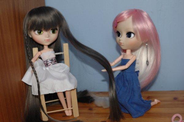 la new wig de Sayuri est arrivée !!!!! ><