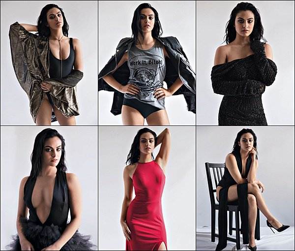 •• Découvrez le photoshoot de la belle Camila pour le magazine « DA MAN »