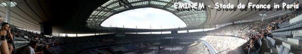 Live report EMINEM au stade de France le 22 Août 2013