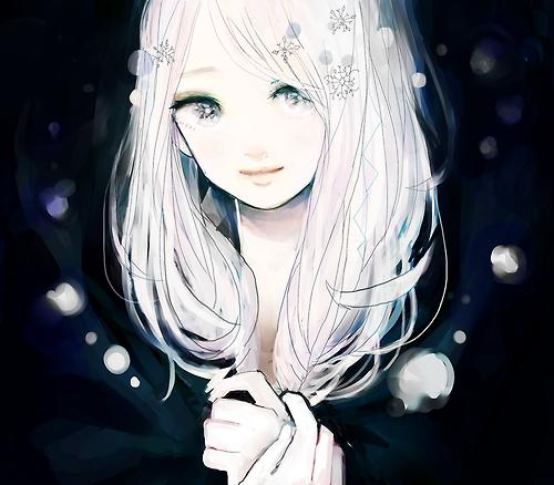 Image manga fille cheveux blanc 7 blog de lauro17 - Femme chat manga ...