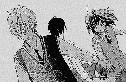 image manga couple noir et blanc #9