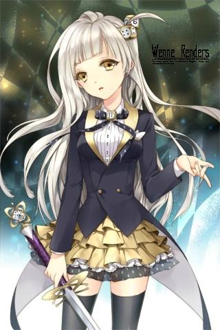 Image manga fille cheveux blanc 14 blog de lauro17 - Image manga fille ...