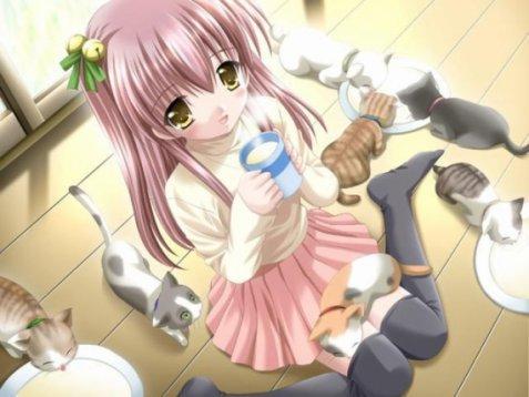 Image manga personnage est animaux 4 blog de lauro17 - Image de manga fille ...