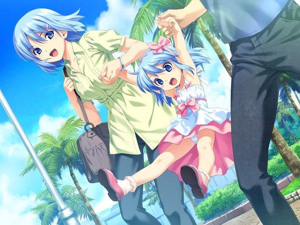 image manga famille