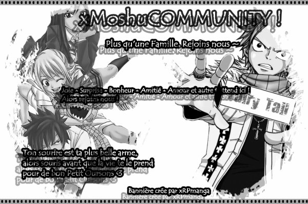 Bannière de la communauté ~••••~