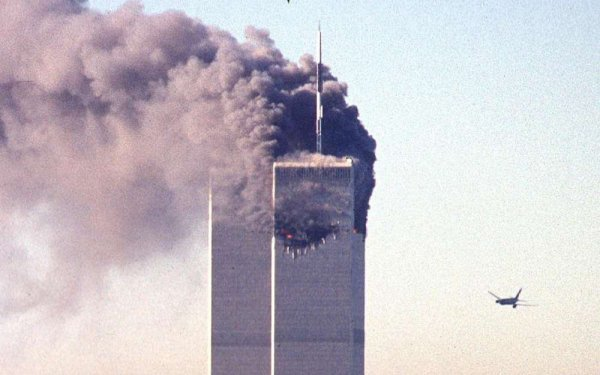 Hommage au victimes du 11-Septembre 2001