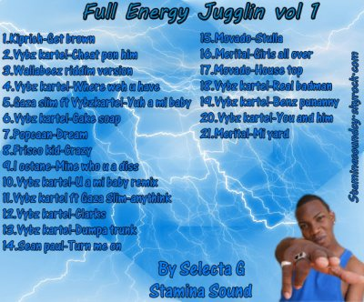 Full Energy Jugglin Vol 1 By Selecta G  Avril 2011    (New)