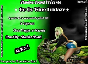 Promo Go Go wine Fridaze By Selecta G  (2011)