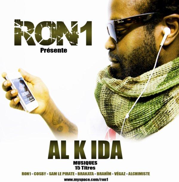 Ron1 présente le projet AL k_IDA music 15 titre