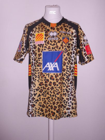 Maillot USAP d'Olivier OLIBEAU (2010/2011) Top 14