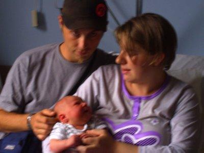 ma femme mon fils et moi