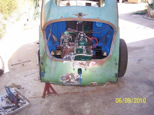 accouplement boite moteur