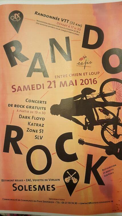 Rando Rock 21 mai Solesmes