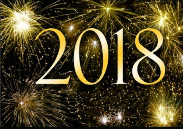 Au revoir 2017 bonjour 2018