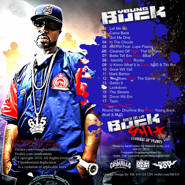 Mixtape: Young Buck – Back On My Buck Shit Vol. 2 : Change Of Plans