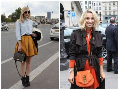 Streetstyle; Gelb vs. Orange.