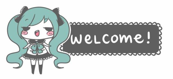 Bienvenue ~