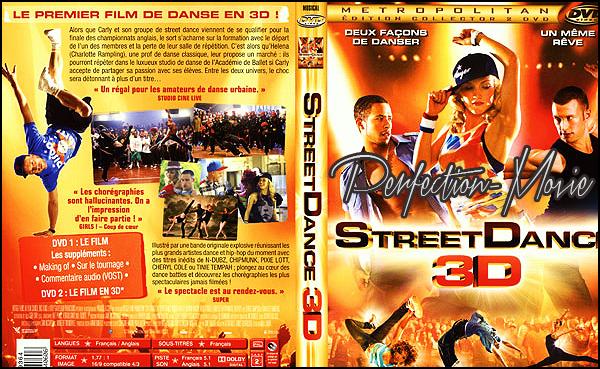 . ► Catégorie film de Danse : StreetDance 3D est un film britannique réalisé par Max Giwa et Dania Pasquini sorti le 19 mai 2010 avec Nichola Burley et Richard Winsor . .