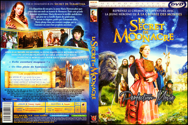 . ► Catégorie Film Fantastique : Le Secret de Moonacre (The Secret of Moonacre) est un film basé sur le roman Le Cheval d'argent (The Little White Horse) d'Elizabeth Goudge sorti en salles en 2009 avec Dakota Blue Richards et Ioan Gruffudd . .