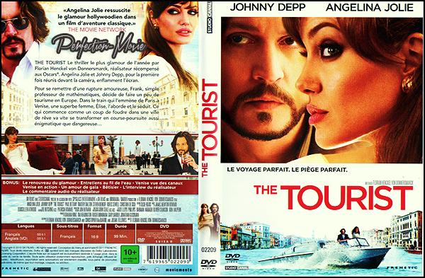 . ► Catégorie Thriller Comico-Romantique : The Tourist est un film américain réalisé par Florian Henckel von Donnersmarck , il est sorti en 2010 avec comme acteurs principaux Johnny Depp et Angelina Jolie et pour finir Paul Bettany . .