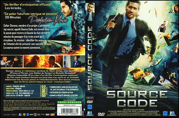 . ► Catégorie Film de Science fiction , Action , Thriller : Source Code est un film américain réalisé par Duncan Jones et qui est sorti le 20 avril 2011 en France avec comme acteurs principaux Jake Gyllenhaal et Michelle Monaghan puis Vera Farmiga . .