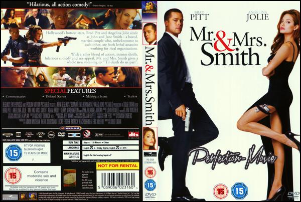 . ► Catégorie Action , Comédie , Romance et Espionnage : Mr. et Mrs Smith est un film américain réalisé par Doug Liman, sorti en 2005 avec comme acteurs principaux Brad Pitt , Angelina Jolie et Vince Vaughn .  .