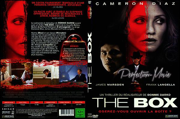 . ► Catégorie Thriller Psychologique Américain et Fantastique : The Box réalisé par Richard Kelly, sorti en 2009 avec comme acteurs Cameron Diaz et James Marsden .  .