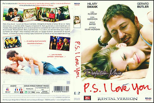 . ► Catégorie Comédie , Dramatique , Romantique : PS I Love You est un film américain réalisé par Richard La Gravenese sorti en 2008 avec comme acteurs principaux Hilary Swank et Gerard Butler puis Lisa Kudrow et Jeffrey Dean Morgan . .