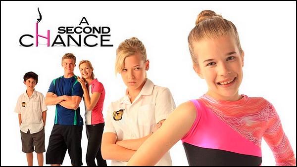. ► ● ● Catégorie Film Jeunesse  : Une seconde chance est un film Familiale Australien basé sur de la Gymnastique de Clay Glen et qui est sorti en 2011 avec comme acteurs principaux Nina Pearce, Adam Tuominen, Emily Morris ● ● . .
