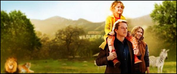 . ► ● ● Catégorie Film Family Dramatique : Nouveau Départ ( We Bought a Zoo ) est un film américain du réalisateur Cameron Crowe et qui est sorti en 2011 avec comme acteurs principaux Matt Damon, Scarlett Johansson et Elle Fanning ● ● .  .
