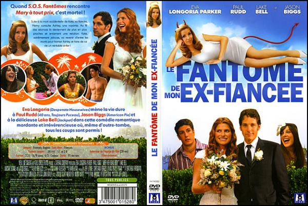 . ► ● ● Catégorie Film Comédie Romantique : Le Fantôme de mon ex-fiancée (Over Her Dead Body) est un film américain écrit et réalisé par Jeff Lowell, sorti en 2008 avec comme acteurs principaux Eva Longoria, Paul Rudd, Lake Bell ● ● .  .