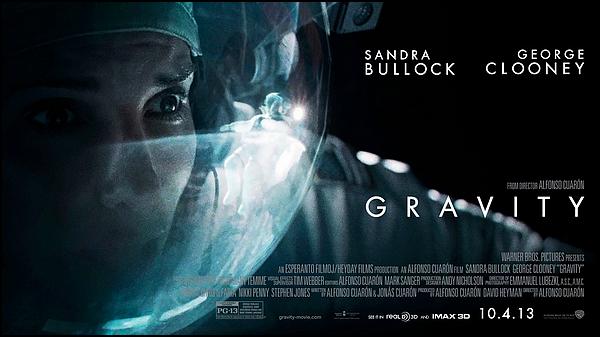 . ► ● ● Catégorie Film de Science-Fiction : Gravity est un film d'aventure spatiale américano-britannique écrit, produit, réalisé et monté par Alfonso Cuarón et qui est sorti en 2013 avec comme acteurs Sandra Bullock, George Clooney, Ed Harris ● ● .  .