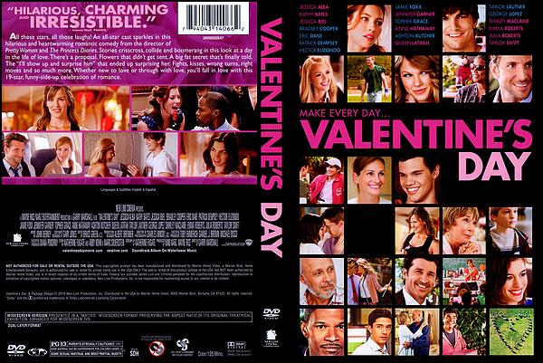 . ► ● ● Catégorie Film Comédie Romantique : Valentine's Day est un film américain réalisée par Garry Marshall et sortie le 17 février 2010 en Europe avec comme acteurs principaux  Julia Roberts, Jessica Alba, Anne Hathaway .. ● ●  .
