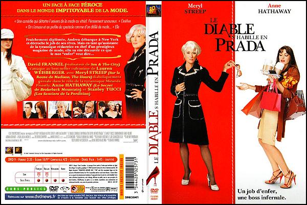 . ► ● ● Catégorie Film Comédie  : Le Diable s'habille en Prada (The Devil wears Prada) réalisée par David Frankel et produit par Wendy Finerman est sorti le 29 juin 2006 avec comme acteurs principaux Meryl Streep, Anne Hathaway, Emily Blunt ● ● .  .