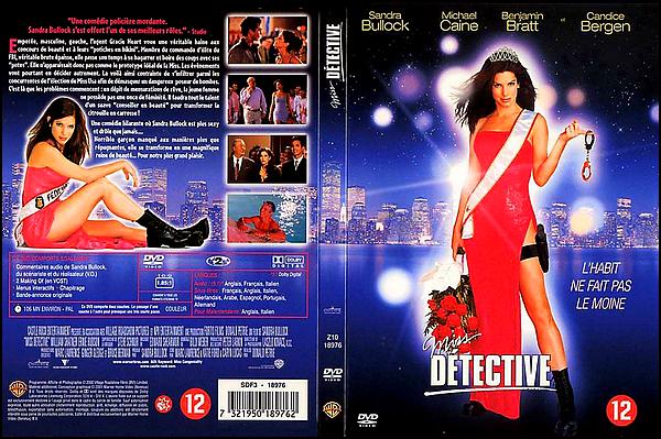 . ► ● ● Catégorie Film d'Action & Comédie : Miss Détective ou Miss Personnalité au Québec (Miss Congeniality) est un film australo-américain réalisé par Donald Petrie, sorti en 2000. avec comme actrice principal Sandra Bullock ● ● .  .