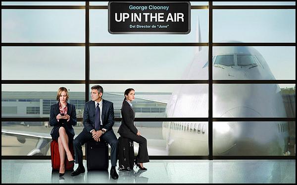 . ► ● ● Catégorie Film Comédie Dramatique : Up in the Air est un film américain réalisé par Jason Reitman et qui est sorti en France le 27 janvier 2010 avec comme acteurs principaux George Clooney, Anna Kendrick, Jason Bateman . ● ●  .