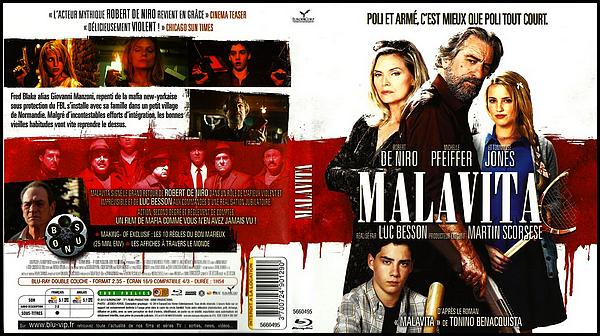 . ► ● ● Catégorie Film D'Action : Malavita est un Thriller Policier franco-américain écrit produit et réalisé par Luc Besson et qui est sorti en 2013 avec comme acteurs principaux Robert De Niro, Michelle Pfeiffer, Tommy Lee Jones  et Dianna Agron . ● ●  .