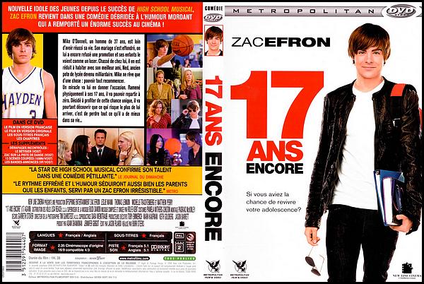 . ► ● ● Catégorie Film de Comédie : 17 ans Encore est une comédie américaine qui est sorti en 2009 avec comme acteurs principaux Zac Efron, Matthew Perry, Leslie Mann et puis aussi  Michelle Trachtenberg . ● ●  .