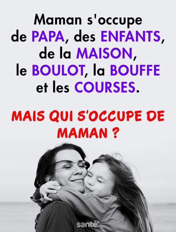 Maman s'ocuppe....