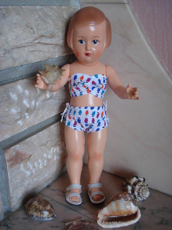 françoise-marie et son nouveau maillot de bain