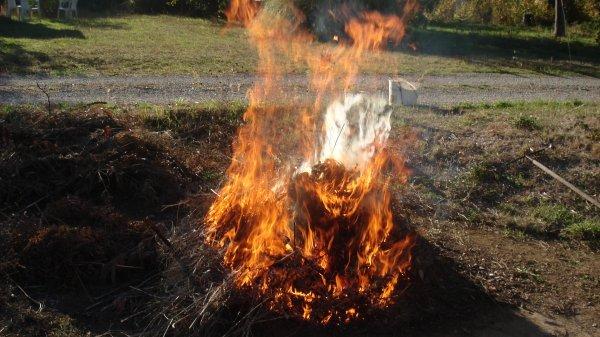 Le feu !