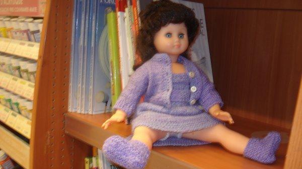Hélène au magasin