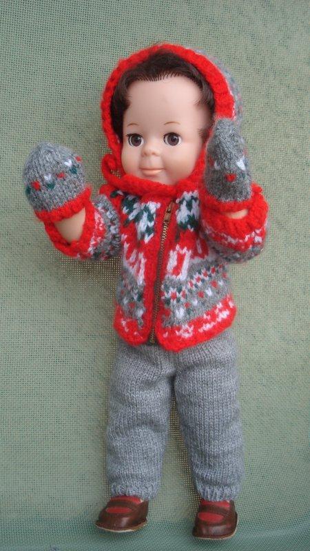 Avec ce froid glacial, Jean-Michel a mis une tenue de circonstance