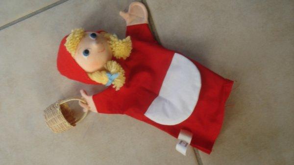 Le petit Chaperon rouge, marionnette