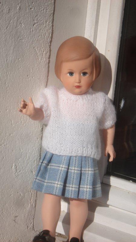 Françoise étrenne une nouvelle tenue offerte par ma belle-fille à Noel