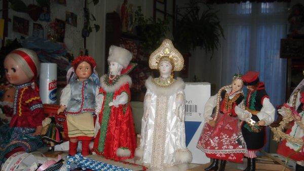 poupées d'Europe de l'Est